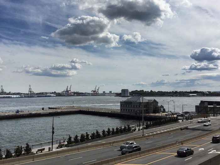 Hubschrauberlandeplatz East River