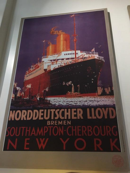 Mit dem Schiff nach New York