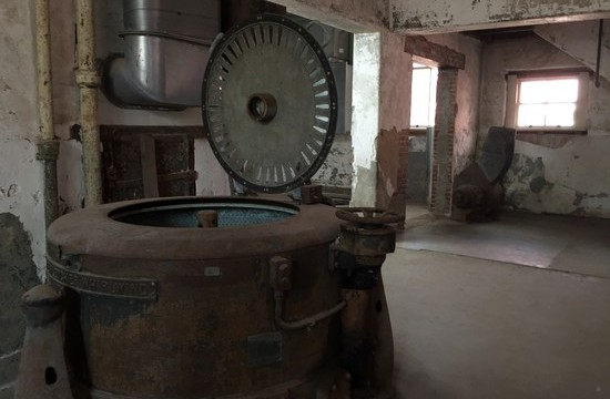 Waschmaschine im Ellis Island Hospital