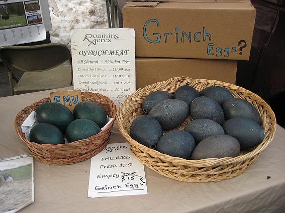 Grüne Eierleger