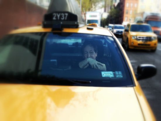 New Yorker Taxifahrer seit 1977: Eugene Salomon