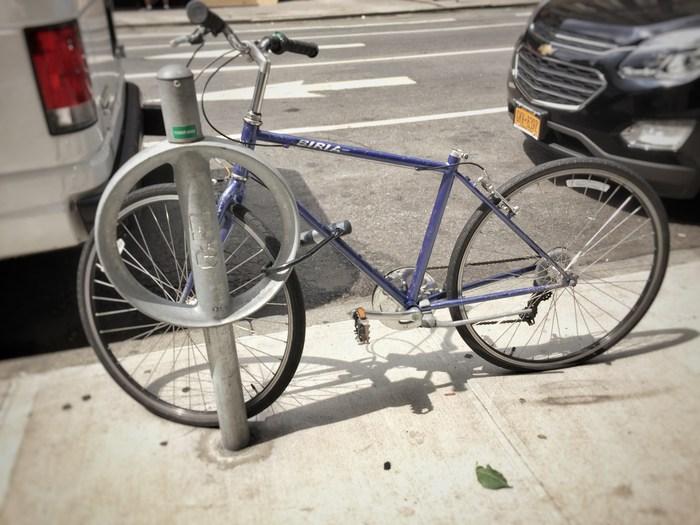 Fahrrad ohne Sattel
