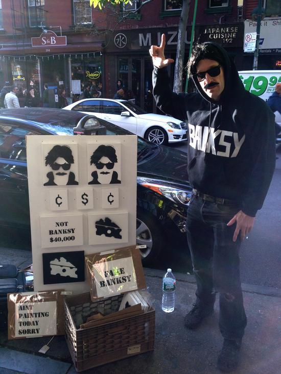 Das macht der Banksy-Hype aus Brooklyn