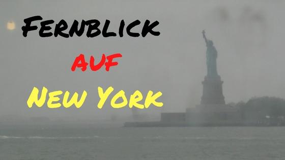 Fernblogger: Fernblick auf New York