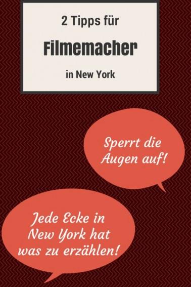 Filmproduktion in New York