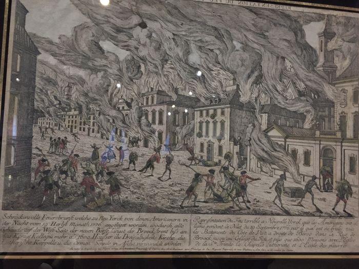 Feuersbrunst von 1776 in New York