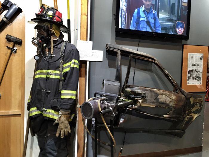 Moderne Feuerwehrtechnik im Feuerwehrmuseum