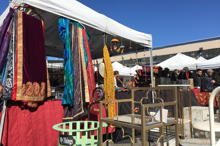 Flohmärkte 2017 in New York: Long Island City Flea