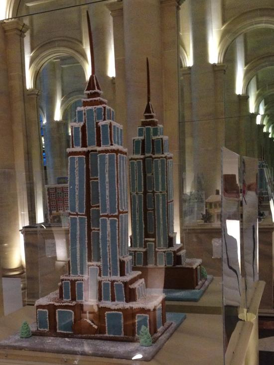 Empire State Building aus Gingerbread