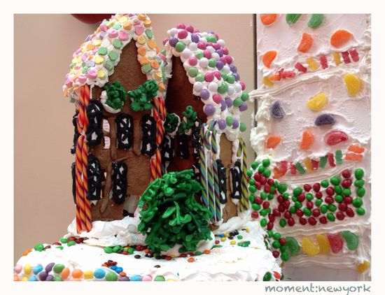 Häuschen in der Gingerbread Lane