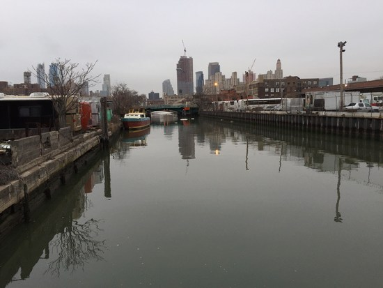 Gowanus Canal in Brooklyn