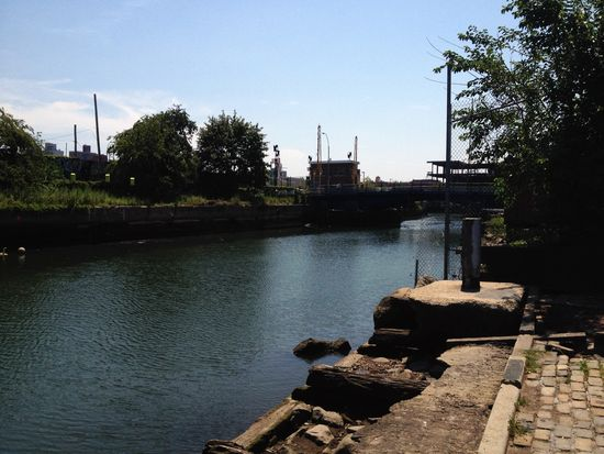 Gowanus Canal in New York