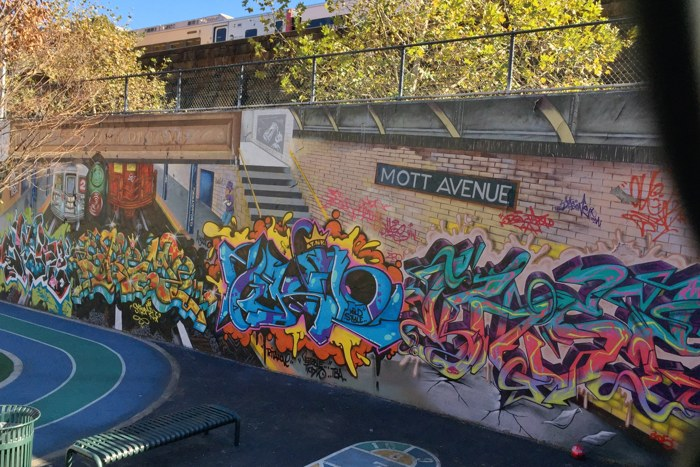 Graffiti Hall of Fame Subway Edition