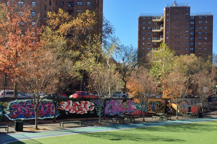 Graffiti Hall of Fame East Harlem