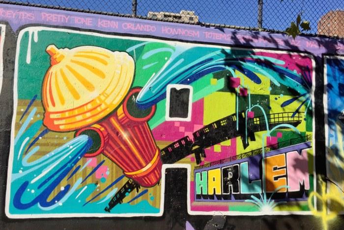 Graffiti Hall of Fame New York