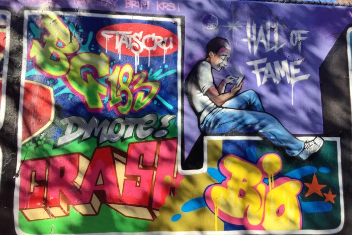 Graffiti Hall of Fame 2018
