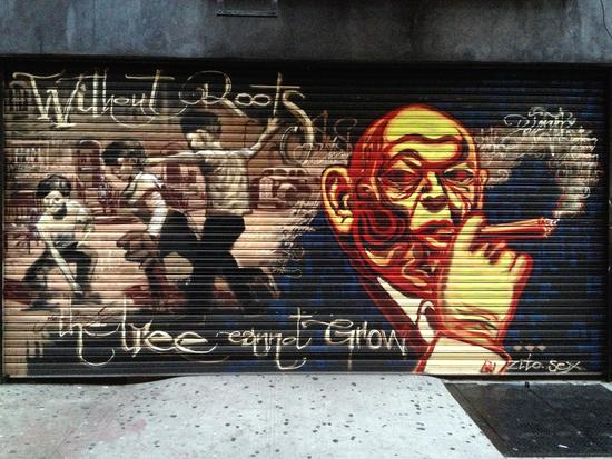 Streetart auf der Lower East Side, New York