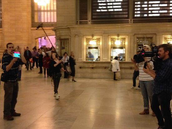 Filmset in Grand Central
