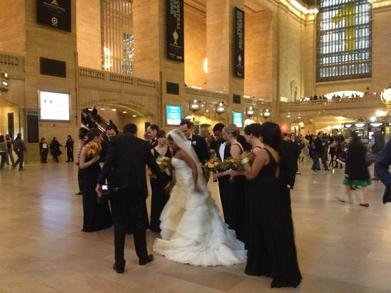 Hochzeit in Grand Central, New York City