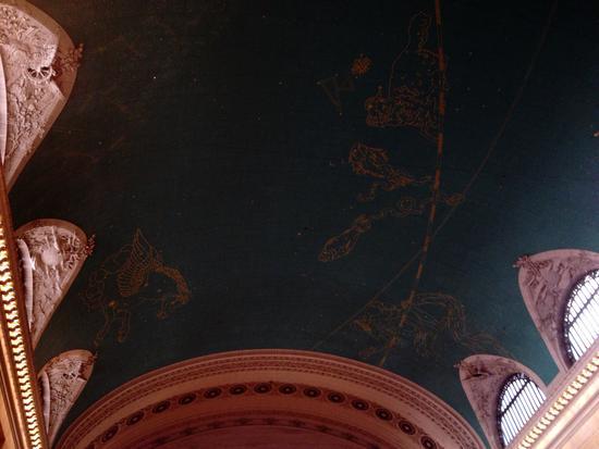 Sternbilder in Grand Central