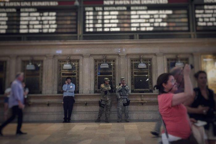 Grand Central Terminal Sicherheit National Guard