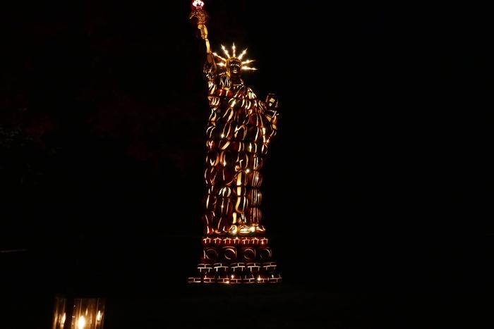 Great Jack O'Lantern Blaze 2018 Freiheitsstatue