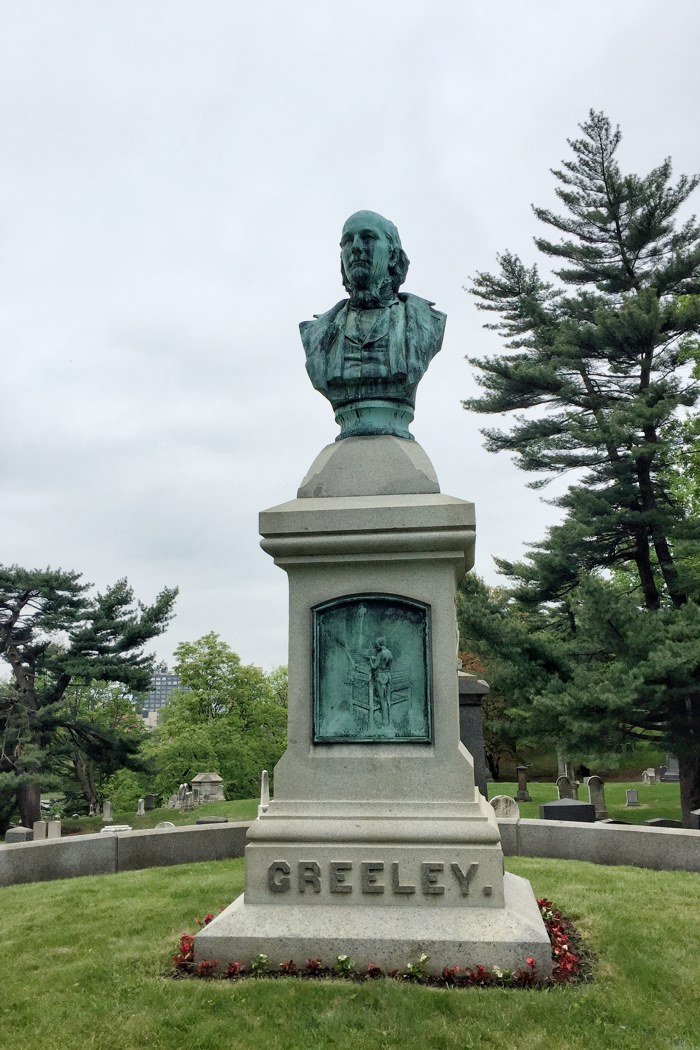 Green-Wood Horace Greeley