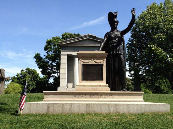 Altar für die Freiheit in Green-Wood Brooklyn