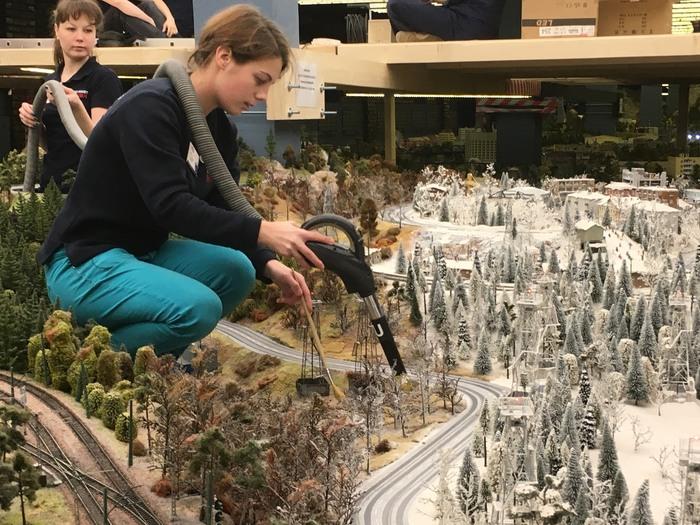 Gullivers Gate Miniaturwelt Schnee