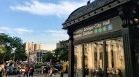 Haltestellenpuzzle Brooklyn Bridge City Hall