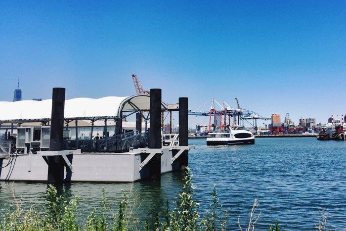 Haltestellenpuzzle Red Hook Brooklyn