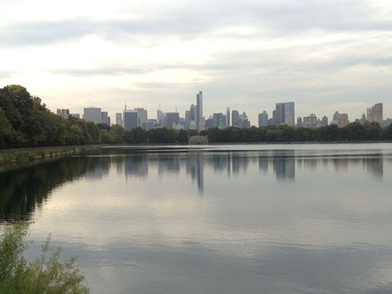 New York Skyline vom Central Park