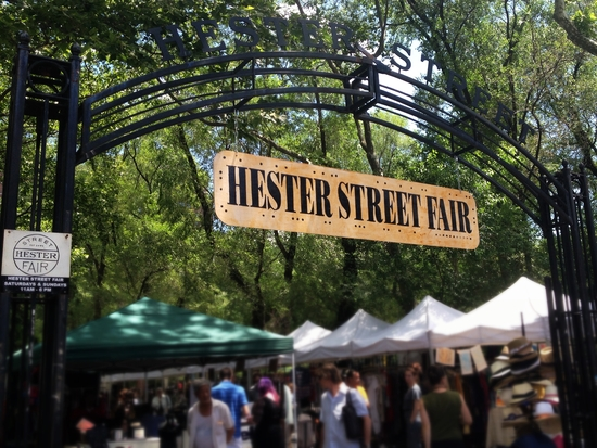 Hester Street Fair Flohmarkt in New York