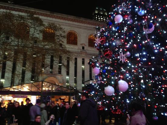 Weihnachtsmarkt in New York