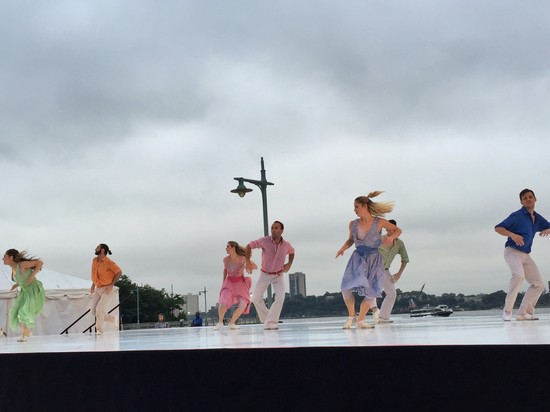 Umsonst und draußen: Tanz am Hudson