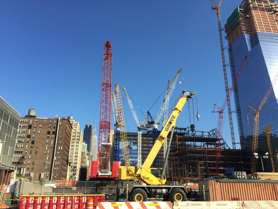 Hudson Yards Baustelle