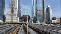Hudson Yards Züge Wolkenkratzer