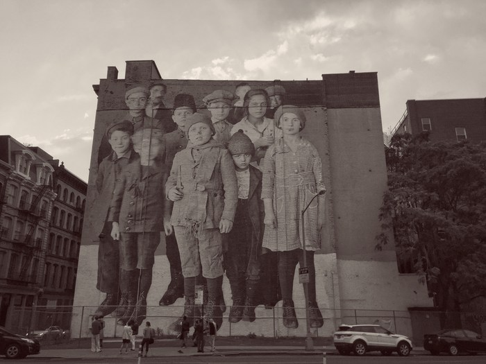 JR Unframed Immigrants Tribeca New York