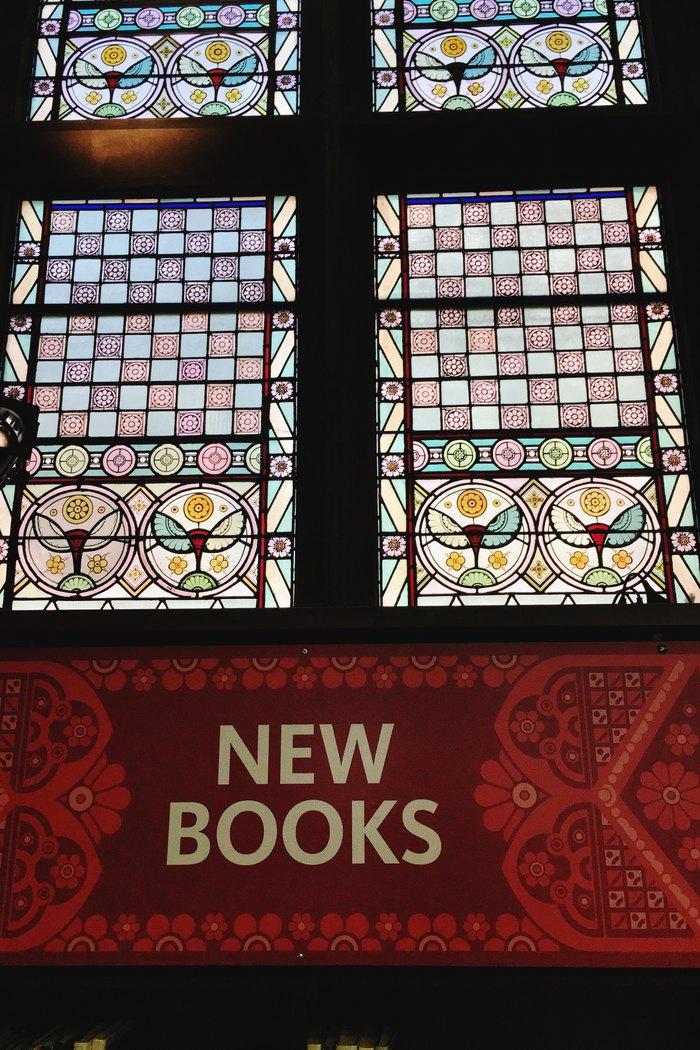 Kirchenfenster Jefferson Market Library