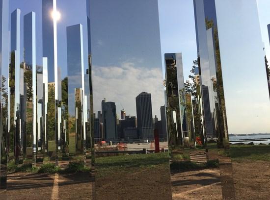 Jeppe Hein Mirror Labyrinth NY