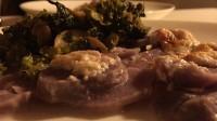 Kartoffelgratin mit Brokkoli Rabe