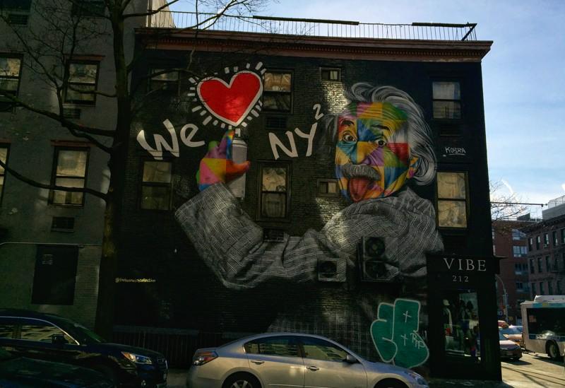 Eduardo Kobra Chelsea New York