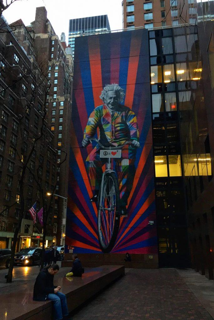 Kobra Streetart Einstein