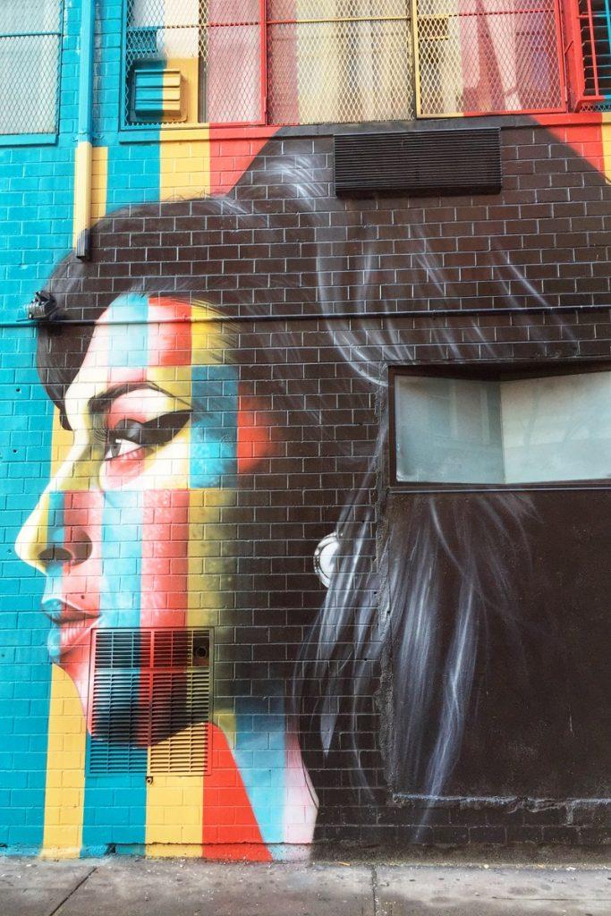 Eduardo Kobra Streetart Amy Winehouse