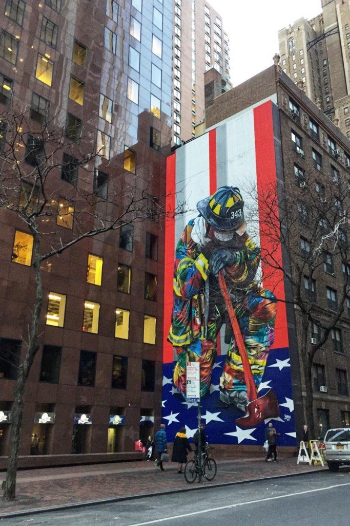 Eduardo Kobra Streetart The Braves 911