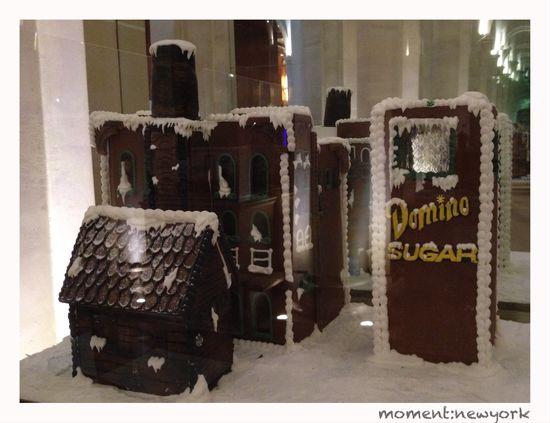 Domino Sugar Factory aus Lebkuchen