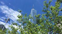 Liberty Park und One World Trade Center