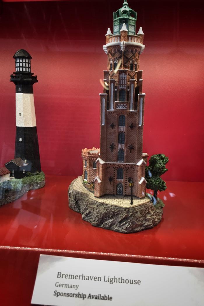 Leuchtturm Bremerhaven im Lighthouse Museum Staten Island
