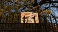 Love still trumps hate