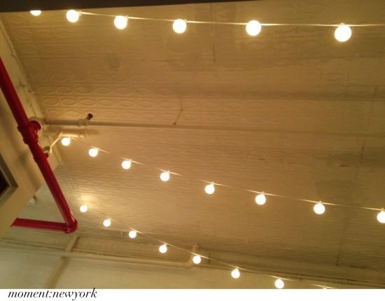Gemütlichkeit New York: Lampenkette